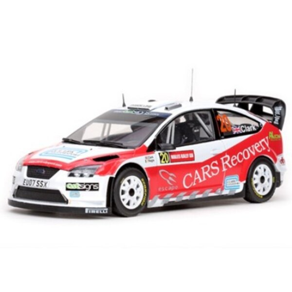 FORD FOCUS RS WRC 20 CLARK/NAGEL RALLYE GB 2008 (EPUISE)