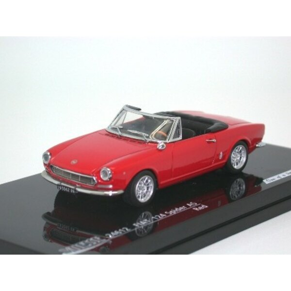 FIAT 124 SPIDER AS ROUGE
