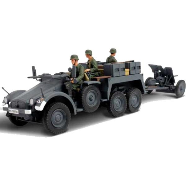 Kfz.69 Pak 36 towed