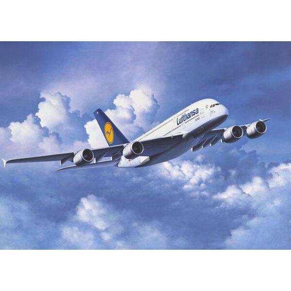 Airbus A380. Décalques Lufthansa