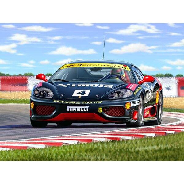 Ferrari 360 Challenge 'Norbert Graf' (easykit : maquette à monter sans colle ni peinture)