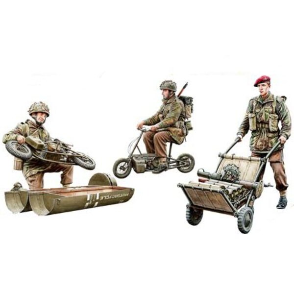 WWII British Paratroops in Action Set B