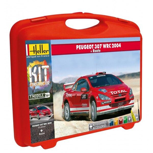 PEUGEOT 307 WRC '04 + PISTE CARRY CASE