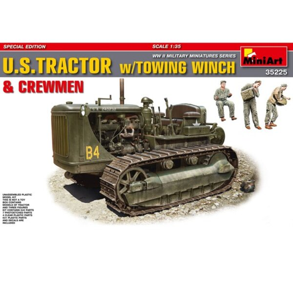 US tractor + winch
