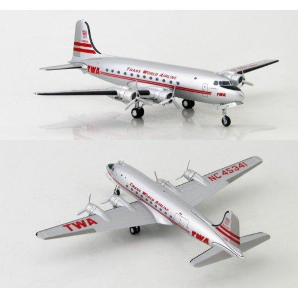 TWA Douglas DC-4 N45341