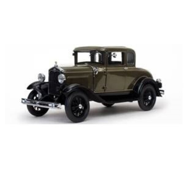 FORD MODEL A COUPE 1931 BROWN