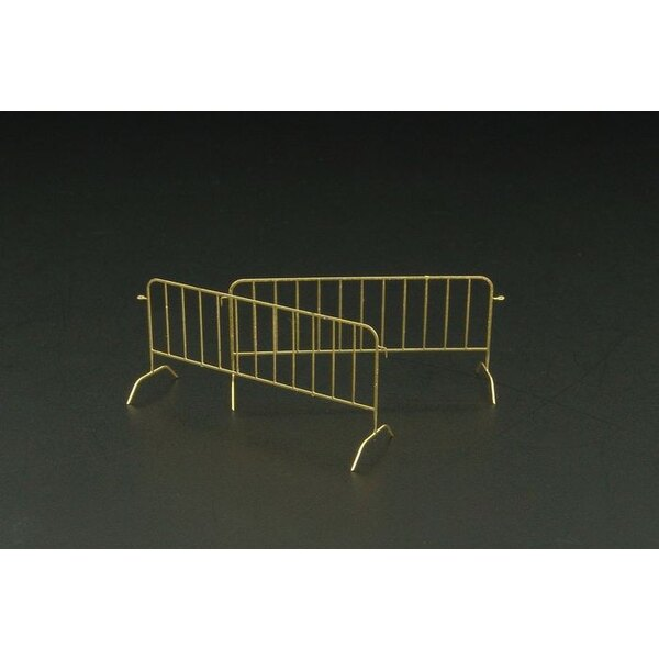 Mobile barriers 6pcs