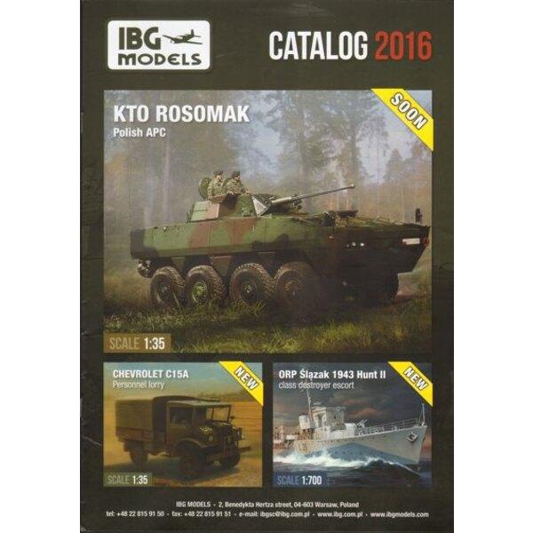 IBG Models 2016 Catalogue