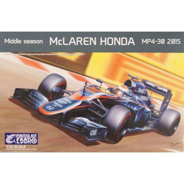 Maclaren Honda MP4-30 2015 middle season