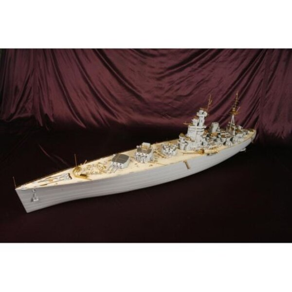 HMS Nelson 1944 DX PACK (designed to be used with Trumpeter kits)
