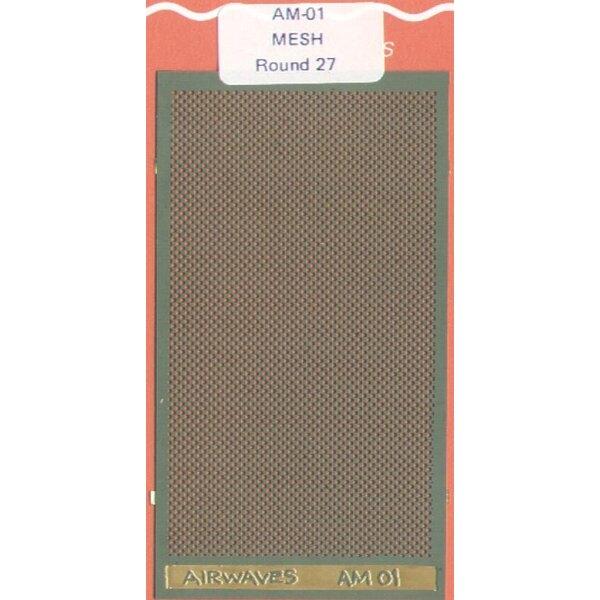 Round 27 mesh