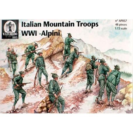ITALIAN MOUNTAIN TROOPS WWI Alpini x 45 pieces