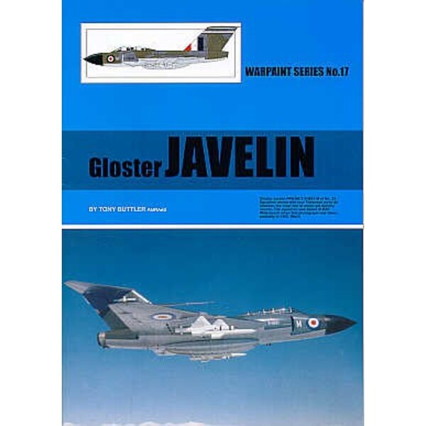 Book Gloster Javelin (Hall Park Books Limited) [FAW.1 FAW.8 FAW.9 FAW.9/9R FAW.Mk.7/9 T.3]