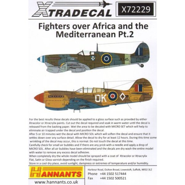 Fighters Over Africa and the Mediterranean Pt.2 (11)Hawker Hurricane Mk.I Tropical version Z4932 DL-B 'Kiwi Sub Lieutenant Micha