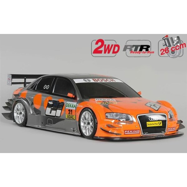 New Chassis 530 RTR 2WD + car. Audi