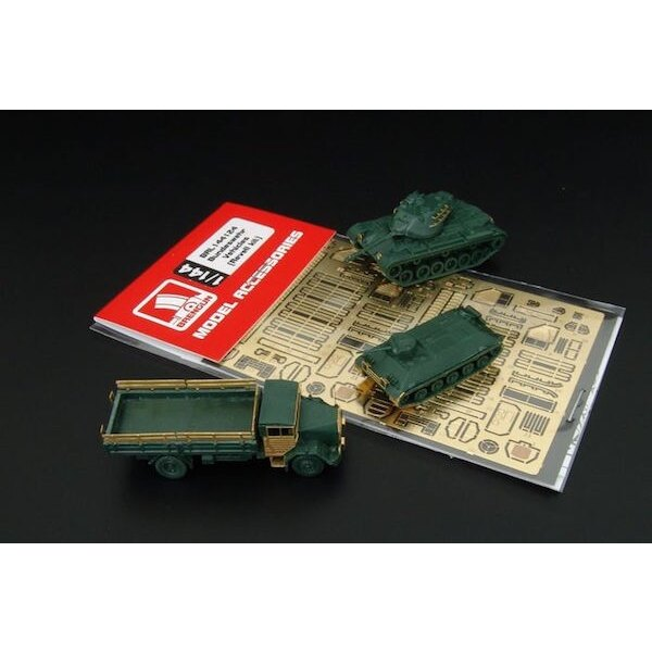 Bundeswehr Vehicles 2 sets (designed to be used with Revell kits)
