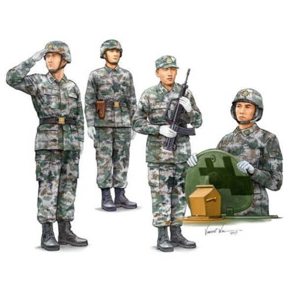 PLA Tank Crew