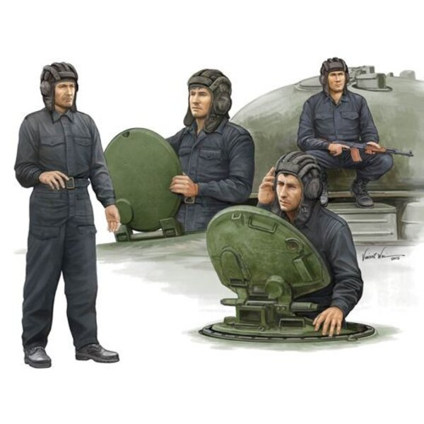 Modern Soviet Tank Crew