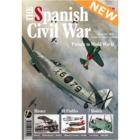 Book AE-5 Airframe Extra No 5-The Spanish Civil War. &bullet