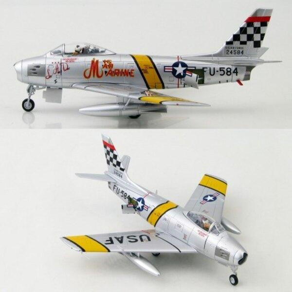 F-86F Sabre MiG Mad Marine Mjr J.Glenn 25thFS