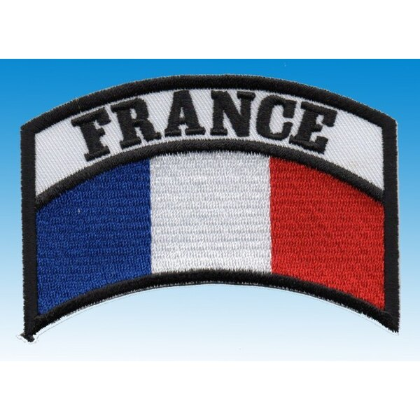 FRANCE shoulder patch / Velcro Shoulder
