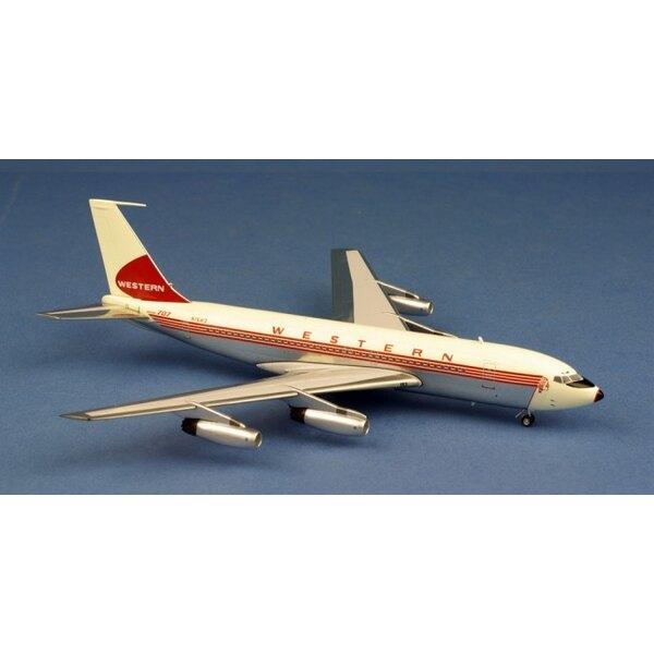 Western Airlines Boeing 707-139 N76413