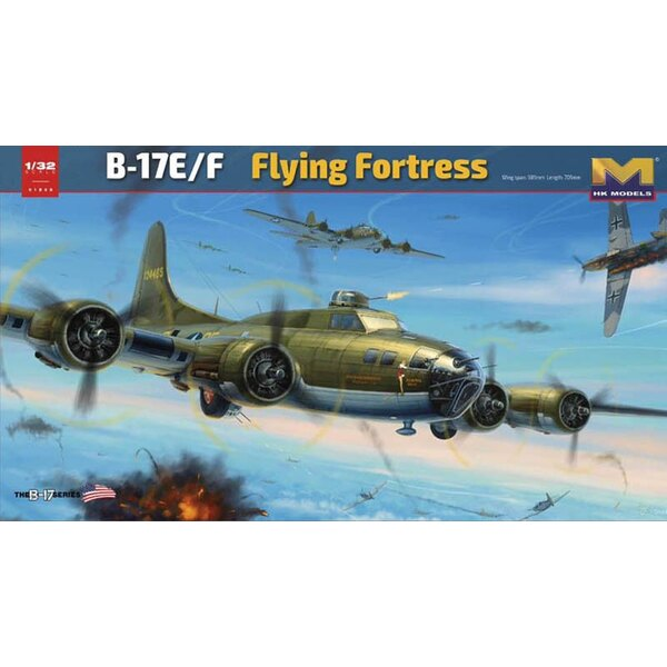 Boeing B-17E/F Flying Fortress.