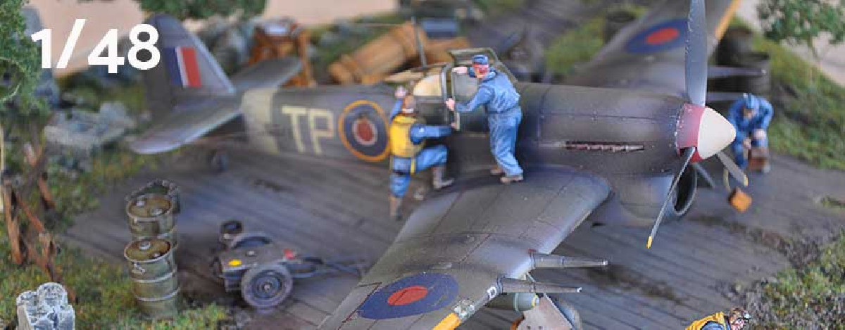 1:48 scale aircraft model kits