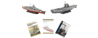 Ship model kits by type