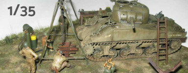 1:35 scale military models