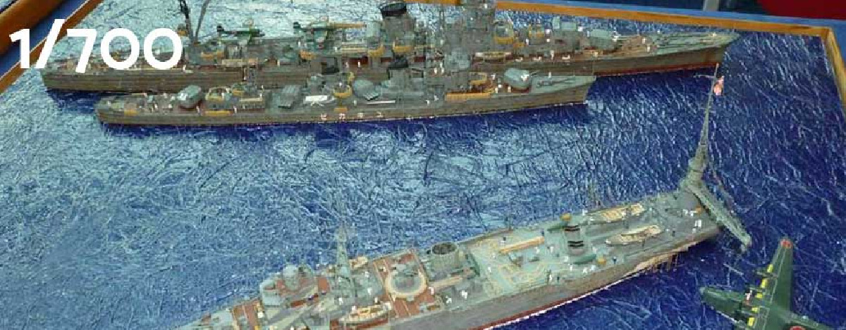 1:700 scale ship models